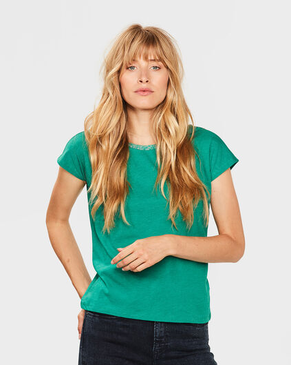DAMES V-BACK TOP Groen