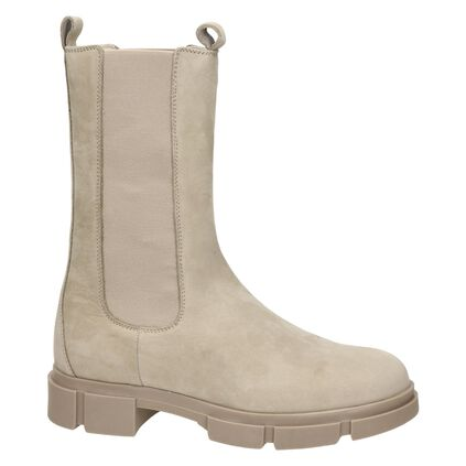 Nelson dames chelseaboot Taupe
