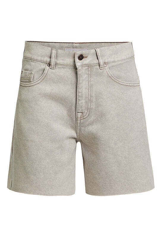 Dames high waist short Lichtgrijs