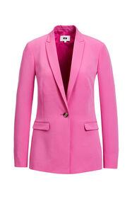 Dames regular fit blazer_Dames regular fit blazer, Roze