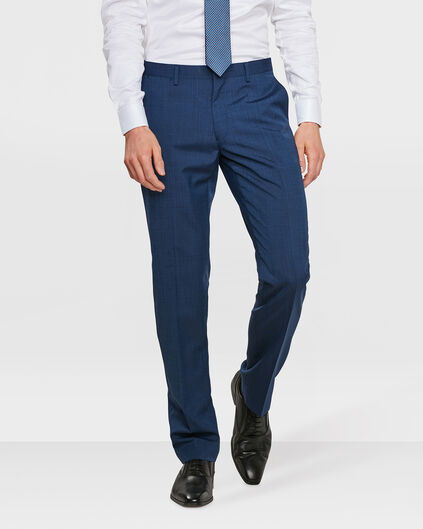 HEREN REGULAR FIT PANTALON ELLIOT Donkerblauw