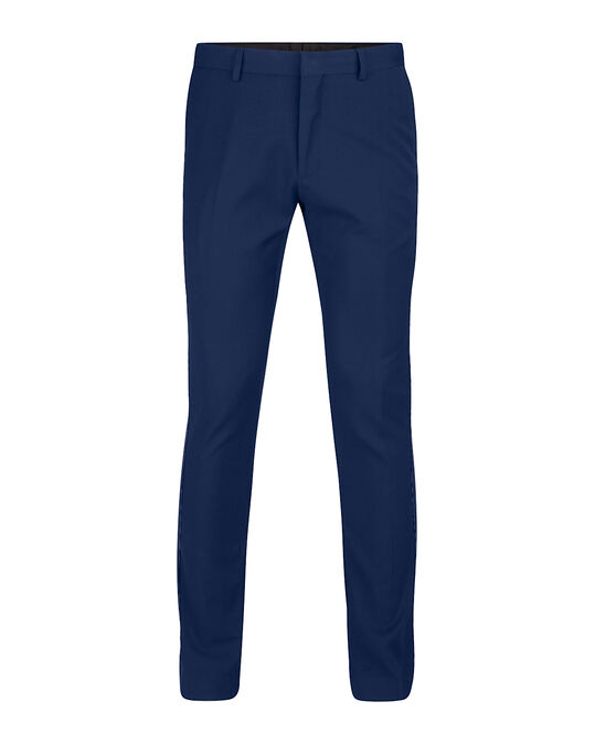 HEREN SLIM FIT PANTALON DALI Blauw