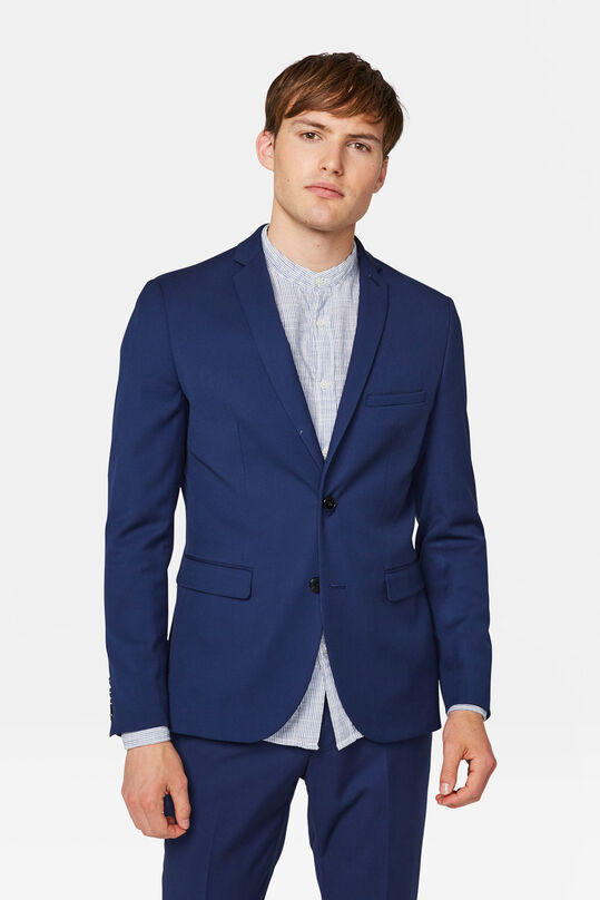 Heren slim fit blazer Dali Blauw