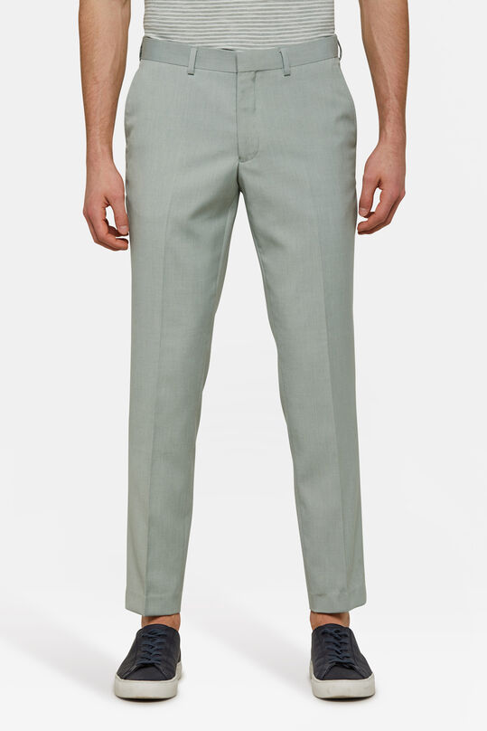 Heren slim fit pantalon Dali Mintgroen