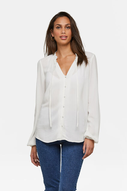 Dames blouse Wit