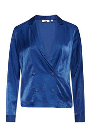 Dames blouse_Dames blouse, Blauw