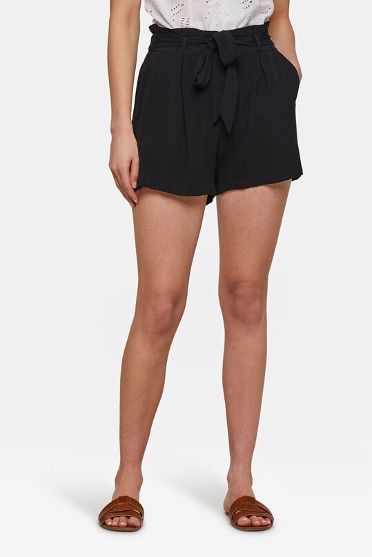 Dames high waist short Zwart