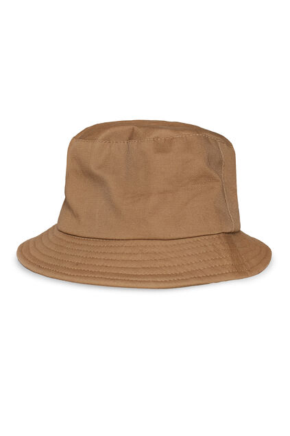 Heren bucket hat Beige