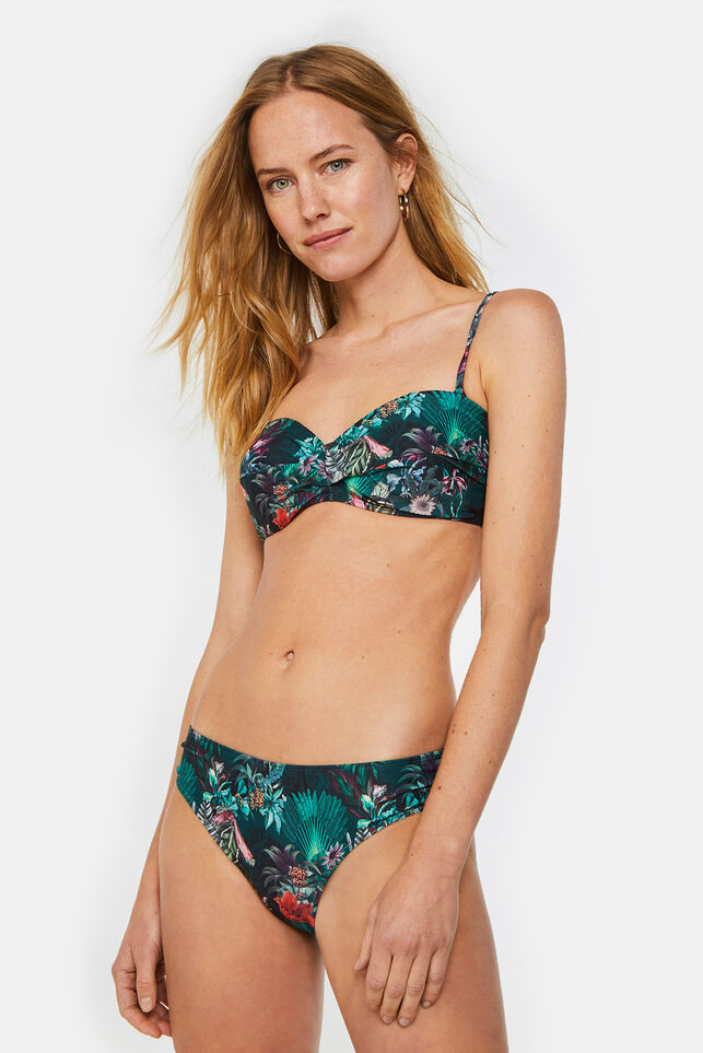 Dames bikinislip met dessin All-over print