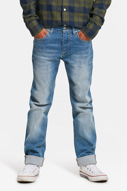 JONGENS SLIM FIT SUPERSTRETCH JEANS Lichtblauw