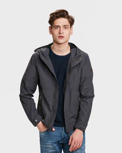 HEREN WIND JACKET Antraciet