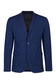 Heren slim fit blazer Dali_Heren slim fit blazer Dali, Kobaltblauw