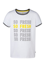 Meisjes So Fresh T-shirt_Meisjes So Fresh T-shirt, Wit