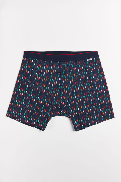 Heren boxershort met boomdessin All-over print