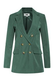 Dames loose fit blazer_Dames loose fit blazer, Groen
