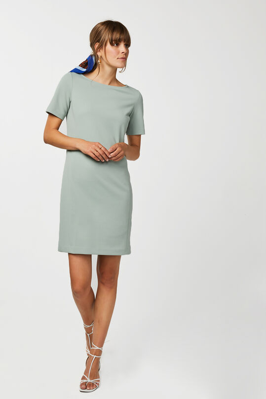 Dames regular fit jurk Mintgroen