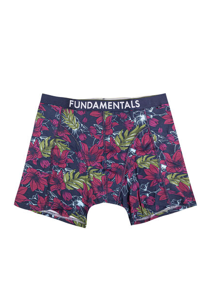 Heren boxershort met botanisch dessin All-over print