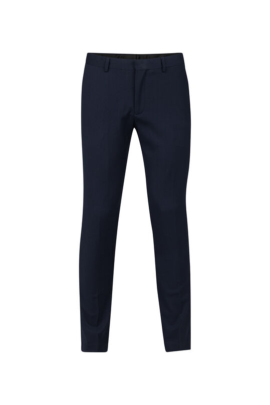 Heren skinny fit dali pantalon Marineblauw