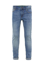 Jongens super skinny fit jeans met jog denim_Jongens super skinny fit jeans met jog denim, Blauw