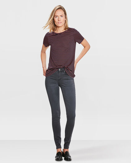 DAMES SUPER SKINNY HIGH STRETCH BROEK Zwart