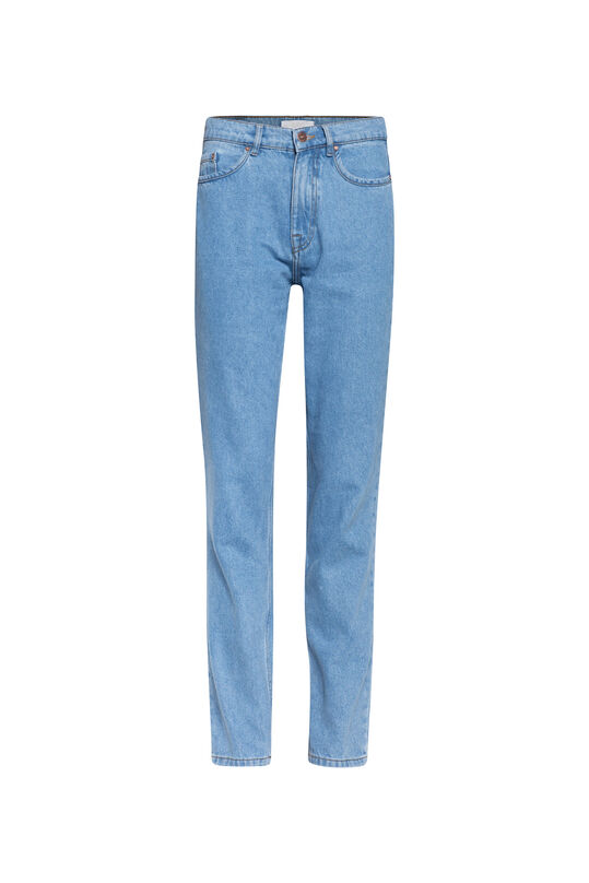 Dames high rise jeans Blauw
