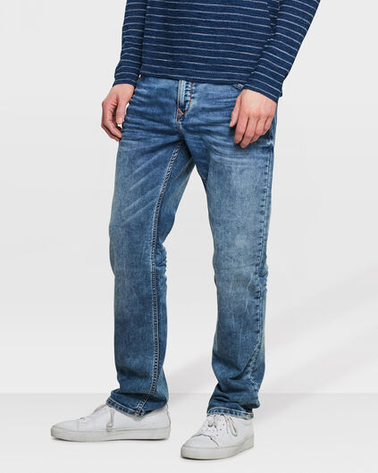 HEREN RELAXED TAPERED JOG DENIM Blauw