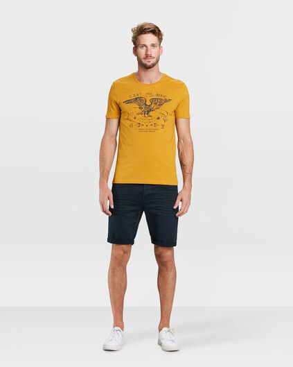 HEREN REGULAR FIT SHORT Marineblauw