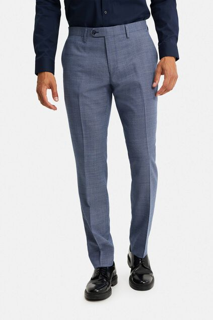 Heren regular fit pantalon, Jackson Donkerblauw
