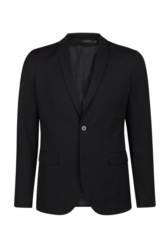 Heren regular fit blazer Dali Zwart