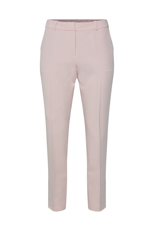 Dames slim fit pantalon Lichtroze