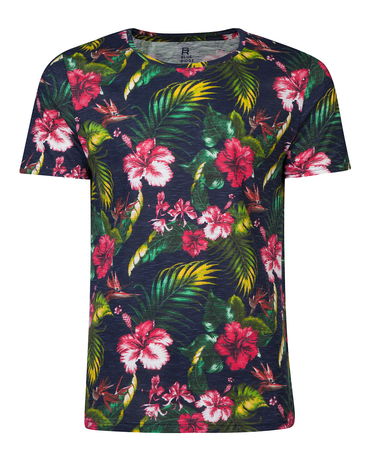Heren all over flower print t shirt 79203081 we fashion for All over printing t shirts