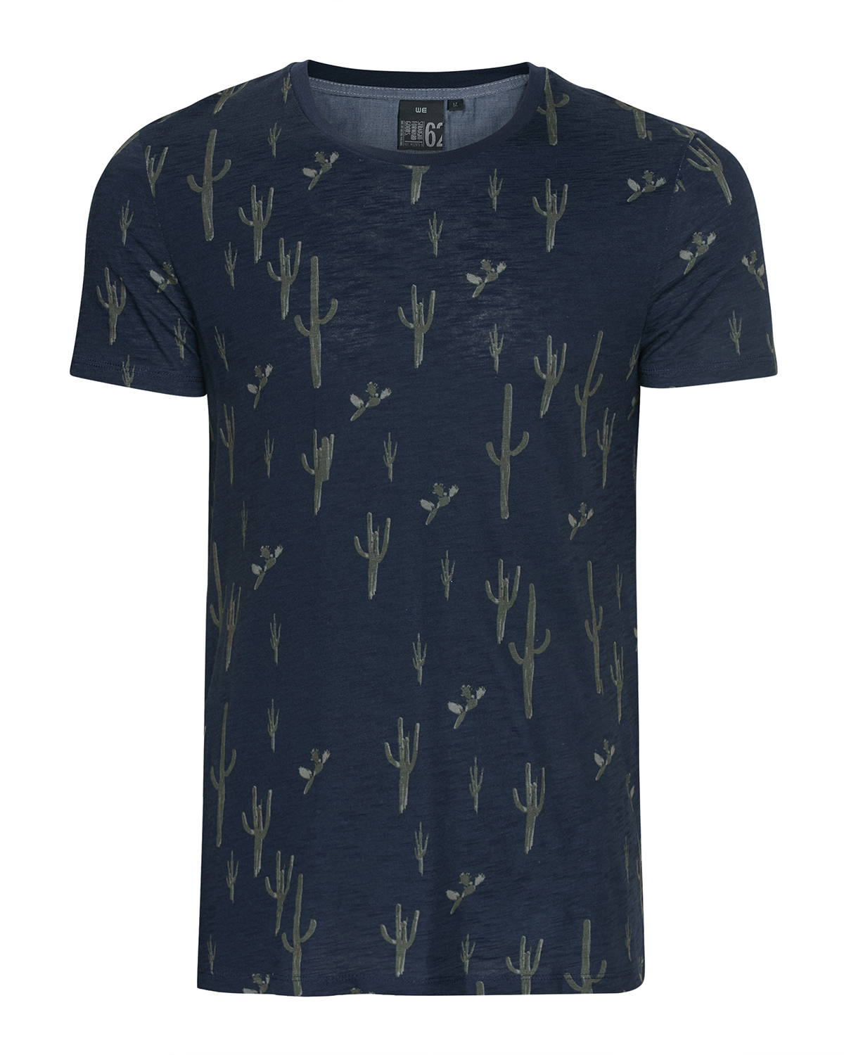 Heren all over cactus print t shirt 79500487 we fashion for All over shirt printing